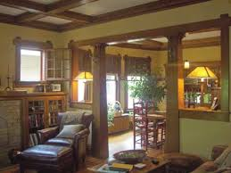 Craftsman Bungalow Interior by Craftsman Bookcases Craftsman Bungalow Interiors Original