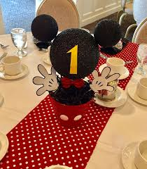 Mickey Mouse Center Pieces The 25 Best Mickey Mouse First Birthday Ideas On Pinterest