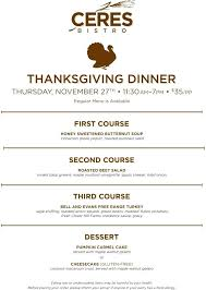 thanksgiving plan a shopping list cooking schedule and food