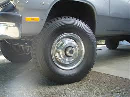 Ford Diesel Truck Tires - 255 85r16 u0027s on a 1st gen dodge diesel diesel truck resource forums