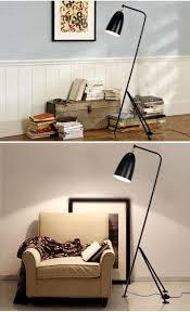 hotel bedroom lighting designer creative iron gubi grasshopper triangle floor lamp loft