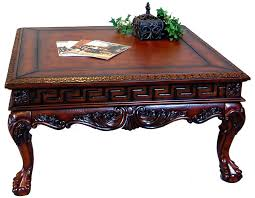 antique wood end tables antique wood coffee tables table square with drawers cvid