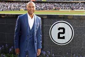 yankees retire derek jeter s no 2 unveil monument park plaque