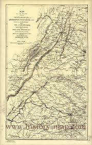 Gettysburg Pennsylvania Map by Gettysburg To Appomattox