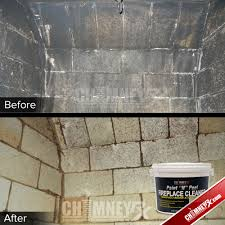 How To Wash Painted Walls by Chimney Rx Paint N Peel Fireplace Cleaner Chimney Rx