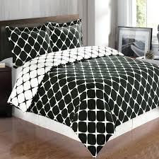black white check twin xl duvet cover setblack and chevron sets