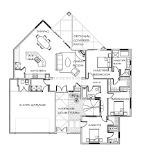 Contemporary Floor Plan by La Pradera Correlada Contemporary