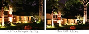 halogen vs led landscape lighting with led and 6 on category