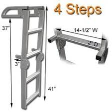 ready to use old style two step boarding ladder boarding ladder