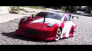 nissan 350z gas type madspeed 1 10 rc 4wd nissan 350z red fire drift youtube