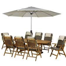 Garden Table With Umbrella Garden Furniture Workshop Tribe Porty Edinburgh 12 August Full