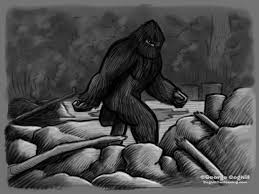bigfoot the classic pose cartoon sketch u2013 coghill cartooning