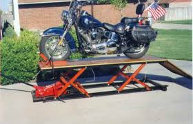 motorcycle lift table plans home made lift table page 2 harley davidson forums