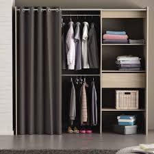 rideau placard chambre placard chambre avec rideau inspirations avec kit dressing avec