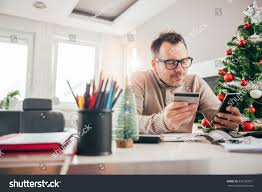man paying credit card on smart stock photo 529126057 shutterstock