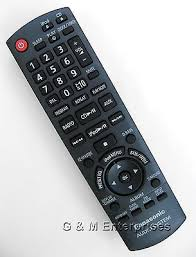 panasonic pt ar100u replacement l new panasonic n2qayb000681 replacement remote control for pt ar100