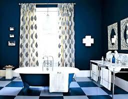 Black And Blue Bathroom Ideas Blue Bathroom Ideas Navy Blue Bathroom With Vanity Royal Blue