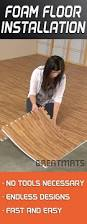 Foam For Laminate Flooring One Of The Easiest Diy Floors To Install Foam Floor Tiles Can