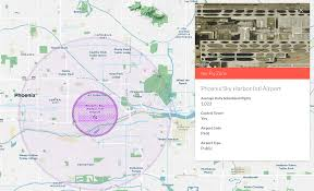 Map Phoenix Arizona by Where Not To Fly A Drone In Phoenix U2013 The Official Hivemapper Blog