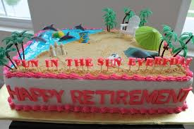Tropical Theme Birthday Cake - celebration cakes injoy cakes