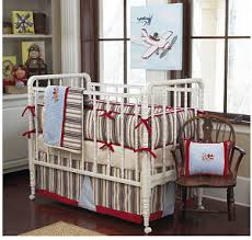 Boy Monkey Crib Bedding Sock Monkey Baby Bedding Set With A Baby Blue Brown And