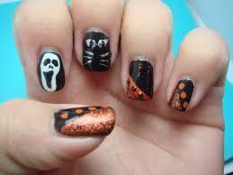 15 halloween nail designs for short nails images halloween nail