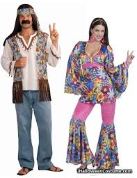 Flower Child Halloween Costume Hippie Flower Child U0026 Male Hippie Couples Costume