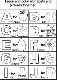 coloring pages kids marvelous printable alphabet coloring pages