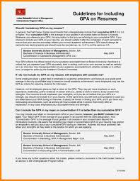 10 how to list gpa on resume resume type