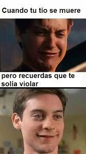 Peter Parker Meme Face - hola soy un título meme by myron memedroid