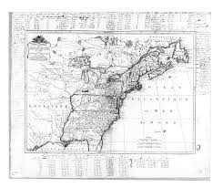 River Map Of Usa by 1785 Map Of The United States Of America French