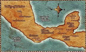 Mesoamerica Map Mesoamerica