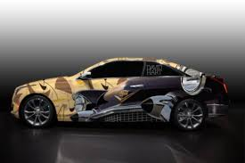 cadillac supercar custom cadillac ats coupes by menswear designers for new york