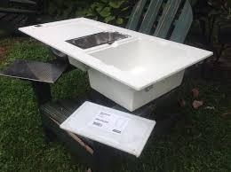 Kitchen Sink Basin by Franke Mythos Double Basin Kitchen Sink Tectonite Polar White
