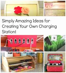 Build Your Own Charging Station House Revivals Diy Charging Stations For Your Electronic Devices
