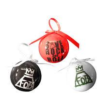 fall out boy ornament set rock merch