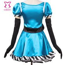 Alice Wonderland Costume Halloween Aliexpress Buy Fairy Tale Alice Wonderland Costume