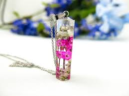 crystal resin necklaces cremains and hair keepsake jewelry