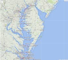 Annapolis Zip Code Map by Marine Weather Forecast