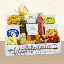 california gift baskets california fresh creamery gourmet gift basket california delicious