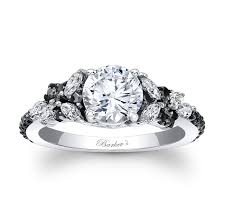 engagement rings with black diamonds black engagement ring 7932lbk black engagement