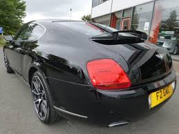 bentley supersport black used black bentley continental gt for sale cheshire