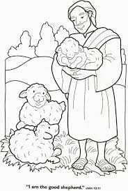 the lord is my shepherd coloring page funycoloring