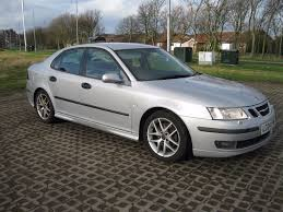 2004 saab 93 turbo 210 bhp aero 2 0l petrol 5 speed silver saloon