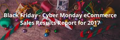 christmas lights black friday 2017 friday cyber monday ecommerce sales results report 2017