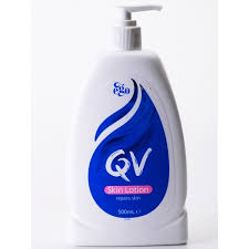 Sabun Qv qv skin lotion repairs skin 500ml for sensitive and skin