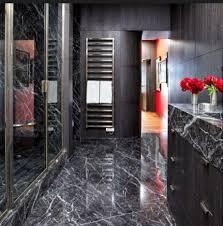 black marble flooring the grace of black marble in bathroom inspectstone