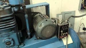 curtis c89 air compressor 15hp 55cfm youtube