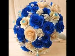 blue flowers for wedding royal blue wedding ideas