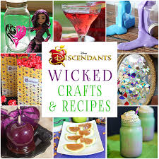 wicked themed events 20 wicked disney descendants crafts and recipes glitter n spice